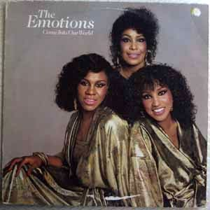 THE EMOTIONS - Come into our world - LP