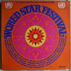 VARIOUS ARTISTS (TOM JONES, FRANK SINATRA, SAMMY D - World star festival - LP