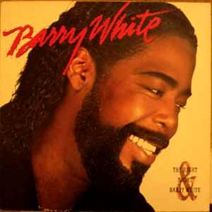 BARRY WHITE - The right night and Barry White - LP