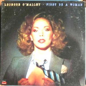 LEONORE O'MALLEY - First be a woman - LP