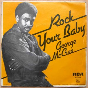 GEORGE MCCRAE - Rock you Baby - 7inch (SP)