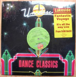 LAKESIDE - Fantastic voyage / It's all the way live - 12 inch 33 rpm