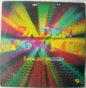BADEN POWELL - Face au public - LP