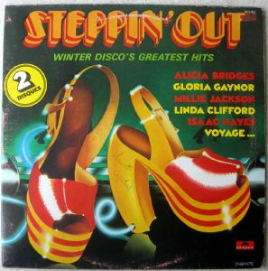 VARIOUS STEPPIN' OUT - Steppin' out - LP x 2