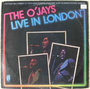 THE O'JAYS - Live in London - LP