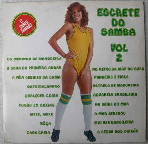 ESCRETE DO SAMBA - Vol. 2 - 33T