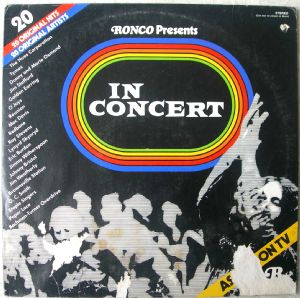 VARIOUS ARTISTS (O'JAYS, JOHNNY BRISTOL, THE TYMES - In concert - LP