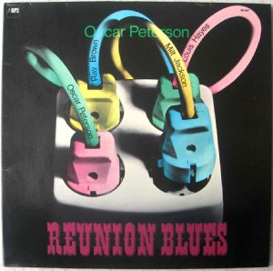 OSCAR PETERSON - Reunion blues - LP Gatefold