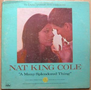 NAT KING COLE - A many splendored thing - LP