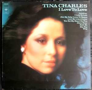 TINA CHARLES - I love to love - LP
