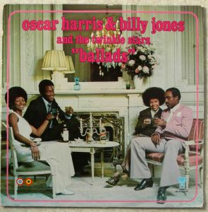 OSCAR HARRIS & BILLY JONES AND THE TWINKLE STARS - Ballads - LP
