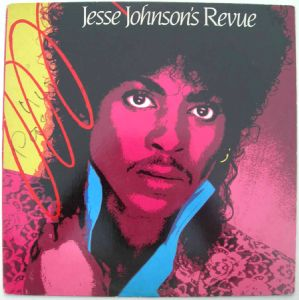 JESSE JOHNSON - Revue - LP