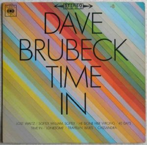 DAVE BRUBECK - Time in - LP
