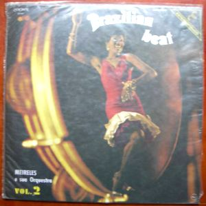 MEIRELES E SUA ORQUESTA - Brazilian beat - LP