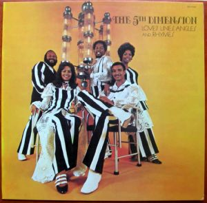 THE 5TH DIMENSION - Love's lines angles and rhymes - LP