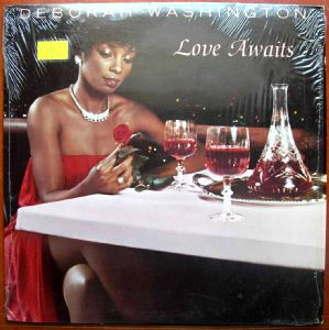 DEBORAH WASHINGTON - Love awaits - LP
