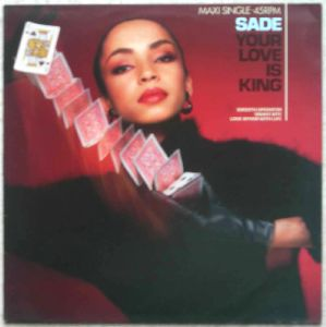 SADE - Your love is king - LP