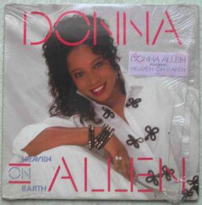 DONNA ALLEN - Heaven on earth - LP