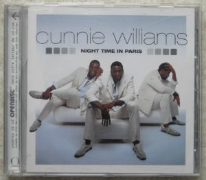 CUNNIE WILLIAMS - Night time in Paris - CD