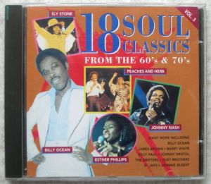 VARIOUS (JOHNNY BRISTOL, DELFONICS, BILLY PAUL, JA - 18 Soul Classics Vol 3 - CD