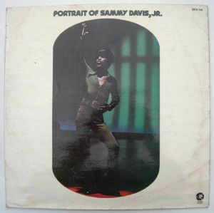SAMMY DAVIS JR. - Portrait of - LP