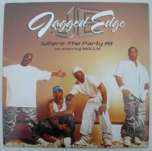 JAGGED EDGE - Where the party at - 12 inch 33 rpm