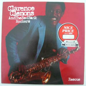 CLARENCE CLEMONS AND THE RED BANK ROCKERS - Rescue - LP