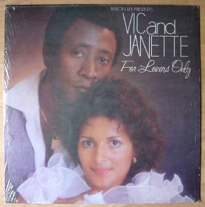 VIC AND JANETTE - For lovers only - LP
