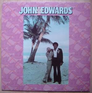 JOHN EDWARDS - Life love and living - LP