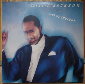 FREDDIE JACKSON - Rock me tonight - LP