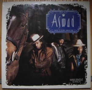 ASWAD - Don't turn around / Woman - 12 inch 33 rpm