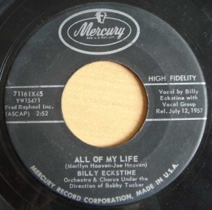 BILL ECKSTINE - All of my life / Poor little heart - 7inch (SP)
