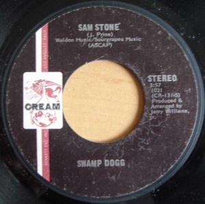 SWAMP DOGG - Knowing I'm pleasing me and you / Sam Stone - 7inch (SP)