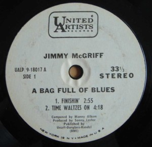 JIMMY MCGRIFF - A bag full of Blues - 7inch (EP)