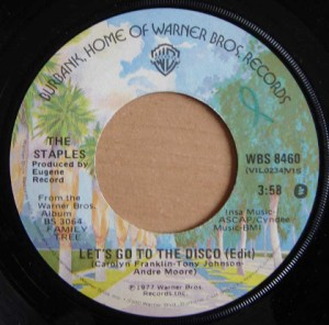 THE STAPLES - See a little further (than my bed) / Let's go to the Disco - 7inch (SP)