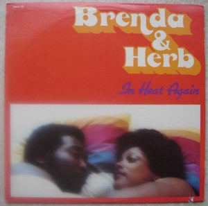 BRENDA & HERB - In heat again - LP