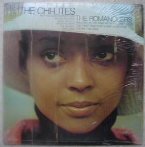 THE CHI-LITES - The romanceers - LP