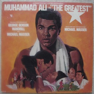 GEORGE BENSON, MANDRILL AND MICHAEL MASSER - Muhammad Ali in the Greatest - LP