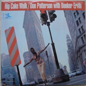 DON PATTERSON WITH BOOKER ERVIN - Hip Cake Walk - LP