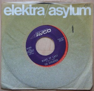 THE STYLISTICS - Make it last / I'm stone in love with you - 7inch (SP)