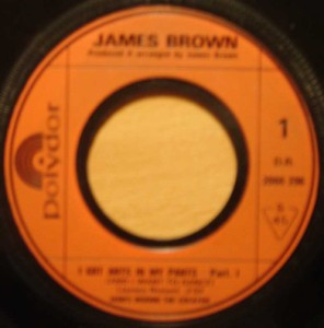 JAMES BROWN - I got ants in my pants pt1 & pt2 - 7inch (SP)