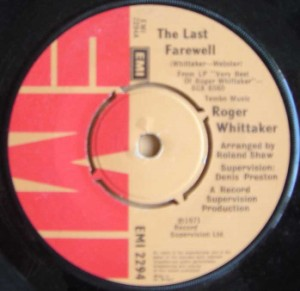 ROGER WHITTAKER - The last farewell / A special kind of man - 7inch (SP)
