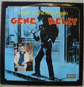GENE KELLY - Singin' in the rain again - LP