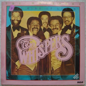 THE WHISPERS - This kind of lovin' - LP