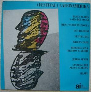 VA (REUBEN BLADES, MILVA, WILLIE COLON,…) - Festival Lateinamerika - LP