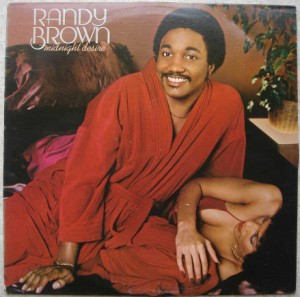 RANDY BROWN - Midnight desire - LP