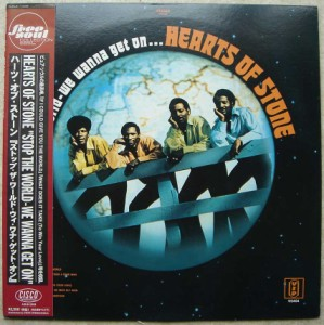 HEARTS OF STONE - Stop the world We wanna get on - LP