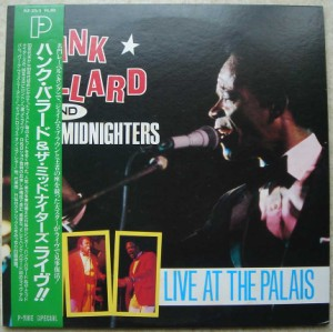 HANK BALLARD AND THE MIDNIGHTERS - Live at the Palais - LP x 2