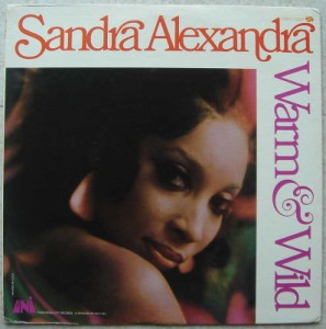 SANDRA ALEXANDRA - Warm and wild - LP
