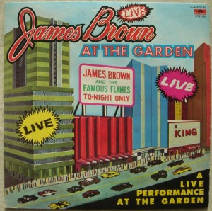JAMES BROWN - At the garden - LP